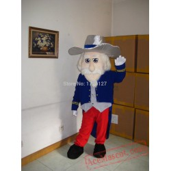 Ole Miss Colonel Rebel Mascot Costume