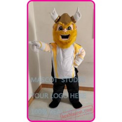 Mascot Viking Mascot Costume Cartoon Character
