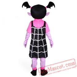 Vampirin Agirl Mascot Costume