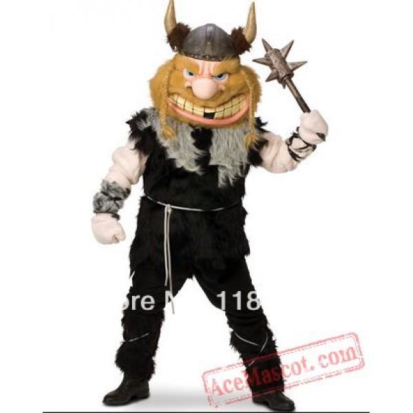 Thor Viking Viktor Mascot Costume