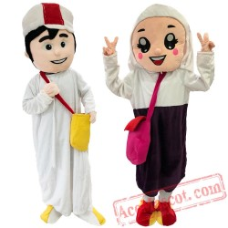Arabian Girl Mascot Costume