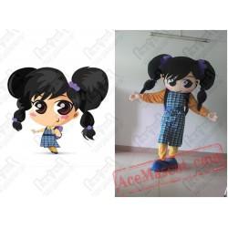 Disguise Big Eyes Cute Girl Mascot Costumes