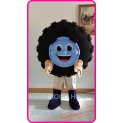Auto Tire Automobile Mascot Costume