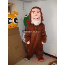 Big Foot Yeti Geek Savage Mascot Costume
