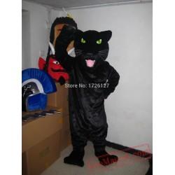 Black Panther Leopard Jaguar Cougar Mascot Costume