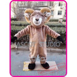 Bighorn Ram Goat Mascot Costume
