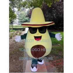 Avocado Mascot Costume Fruit Mascot