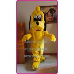 Yellow Plush Pluto Dog Mascot Costume