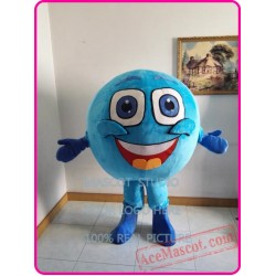 Blue Ball Mascot Costume