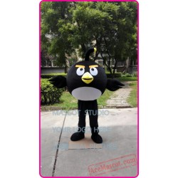 Black Bird Mascot Costume