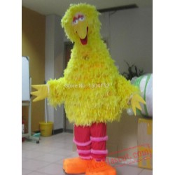 Big Yellow Bird Mascot Costume