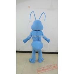 Blue Cartoon Ants Animal Mascot Costume