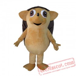 Adult Big Eyes Hedgehog Mascot Costume