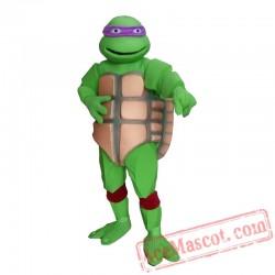 Adult Women Men Mutant Ninja Turtle Mascot Costume
