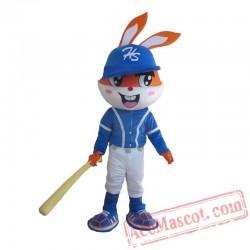 Adult Rabbit Mascot Costume Carnival Festival