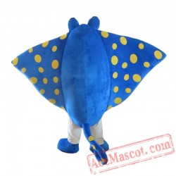 Adult Manta Ray See Fish Mascot Costume