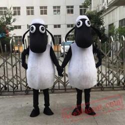 Black Sheep Lamb Mascot Costume Shaun The Sheep Mascot