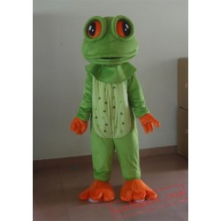 Adult Big Eyes Frog Mascot Costume