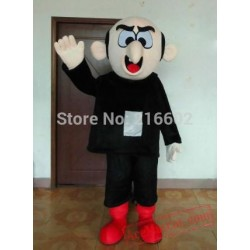 Adult Old Man Witch Mascot Costume