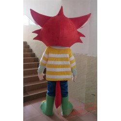 Adult Red Fox Mascot Costume