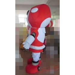Adult Robot Led Mascot Costume
