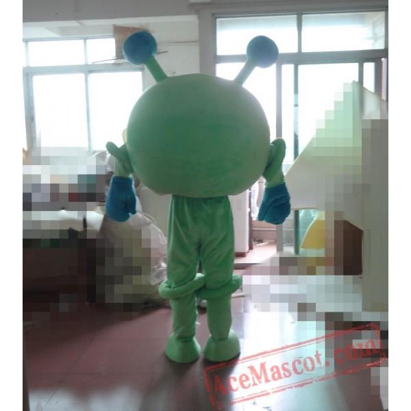 Adult Cartoon Green Eyes Mascot Costume