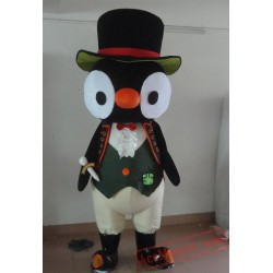 Big White Eyes Emperor Penguins Mascot Costumes
