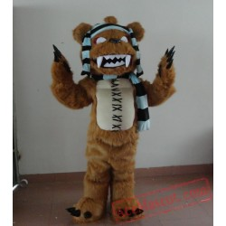 Adult Little Monster Mascot Costume