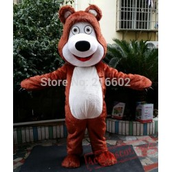 Bear Ursa Grizzly Mascot Costume