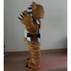 Adult Little Monster Mascot Costume