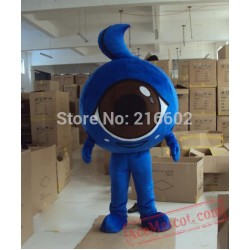 Big Eyes Mascot Costume Christmas Party Costume