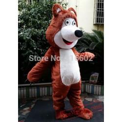 Bear Ursa Grizzly Mascot Costume