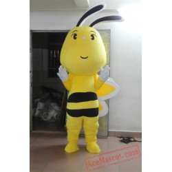 Bee Mascot Costume Adult Hornet Bee Outfit Suit