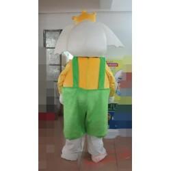 Adult Elephant Mascot Costume