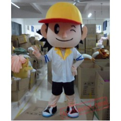 Baseball Boys Plush Cartoon Character Mascot Costume