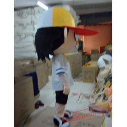 Baseball Boys Plush Cartoon Character Mascot Costume