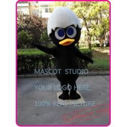 Black Chick Mascot Costume
