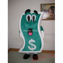 Billy Buck Money Cash Mascot Costume