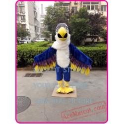 Blue Eagle Mascot Hawk Falcon Mascot Costume