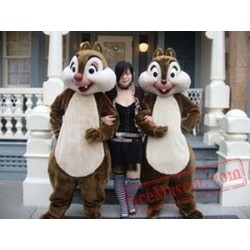 Chipmunk Mascot Costume for Adults
