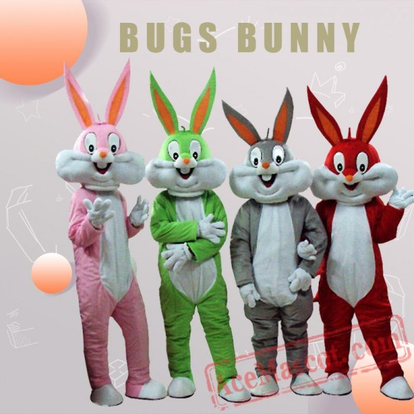 Bugs Bunny Mascot Costume for Adults
