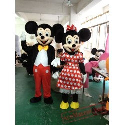 Mickey Minnie Mouse Disney Mascot Costume for Adults