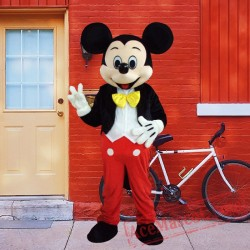 Mickey Mouse Disney Mascot Costume for Adults