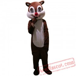 Squirrel Mascot Costume for Adults