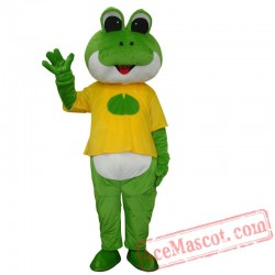 Frog Prince Mascot Costume for Adults