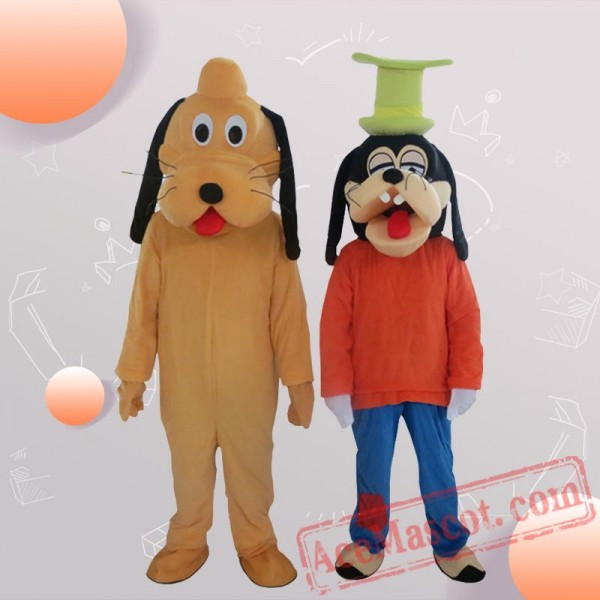 Mickey Minnie Donald Duck Goofy Dog Disney Mascot Costume for Adults