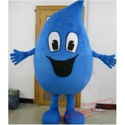 Water Drop Mascot Costume for Adults