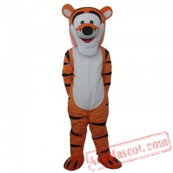 Tiger Mascot Costume for Adults