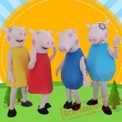 Peppa Pig Mascot Costume for Adults