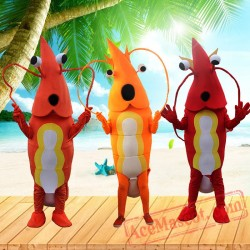 Lobster Mascot Costume for Adults